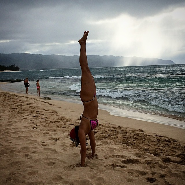 Handstands create more energy and creativity!