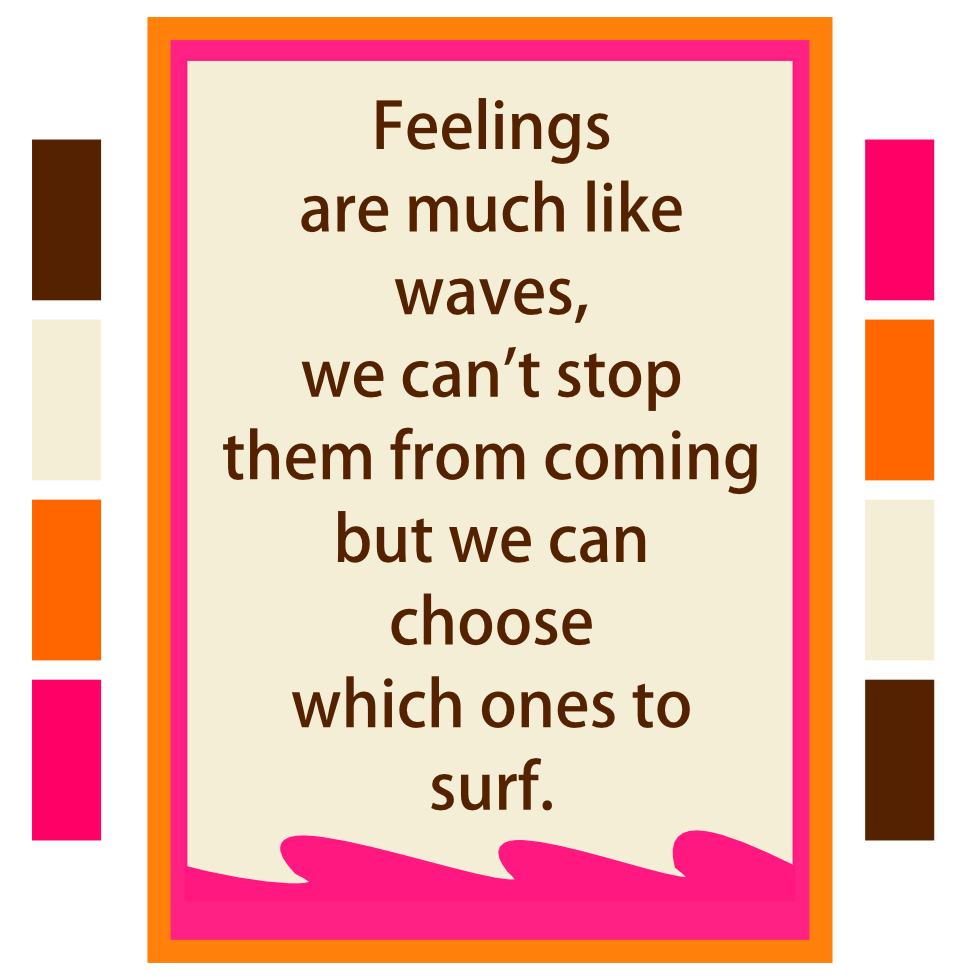 YOU choose which waves to Surf!
