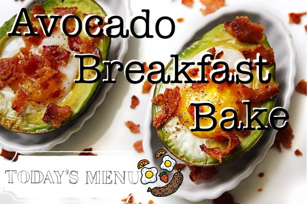 Avocado Breakfast Bake